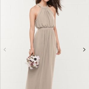 Formal tan dress